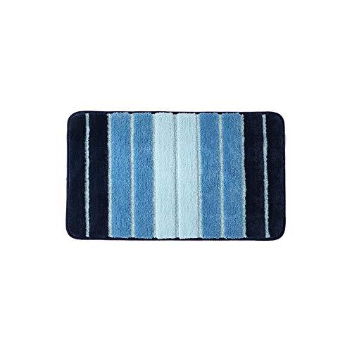 Fairy-Margot Shag Teppiche |Weiche Teppich Teppich Salon Teppiche Saugfähig rutschfeste Matte Wohnkultur Kinderzimmer Spielmatten Schiff Anker Teppiche Für Wohnzimmer-Blau-50x80cm