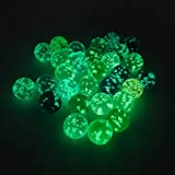 None/Brand 30 Marbles Glow in The Drak,is A Cool Glass Marbles,Can Be Used with Marble Run for Kids