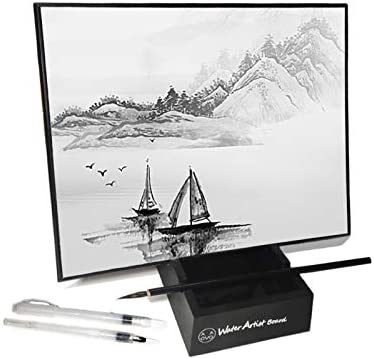 AOVOA Zen Meditation Board Painting with Water for Relaxing Mindfulness Meditation Practice product image