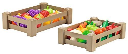Smoby- Caja de Frutas y Verduras, Modelos/Colores aleatorios (948)