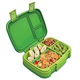 Bentgo Fresh (Green) – New & Improved Leak-Proof, Versatile 4-Compartment Bento-Style Lunch Box...