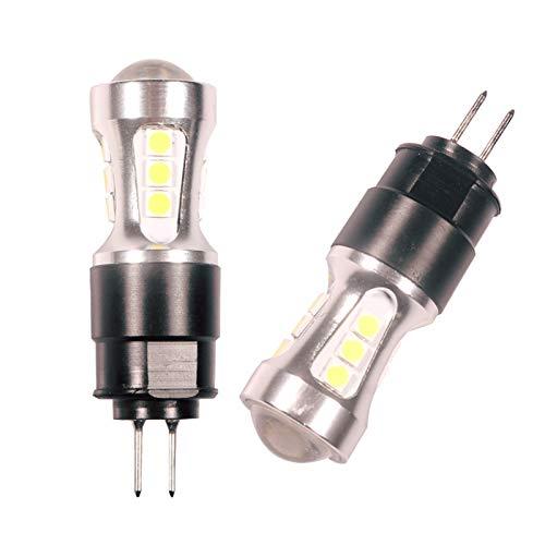 ZXB 2 unids Blanco 6000K Sin Error HP24W G4 Bulbos LED para Citroen C5 Luces de ejecución diurnas 3030 18-SMD Lámpara para Peugeot 3008 Day Light (Emitting Color : White)