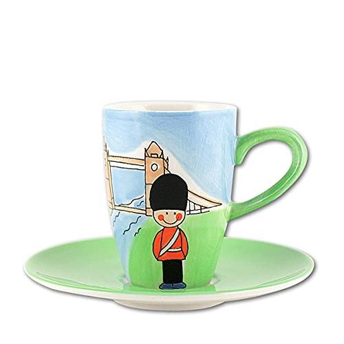 440s.de Mila Keramik Espresso-Tasse mit Untere, London   MI-88003   4045303880030