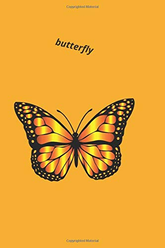 Butterfly: Journal Diary in line for kids