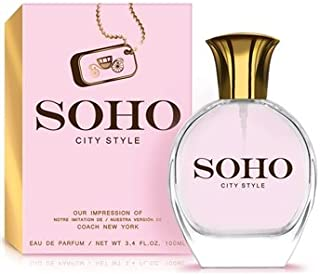 e708a7c1cb Soho City by Preferred Fragrance inspired by COACH NEW YORK BY COACH FOR  WOMEN