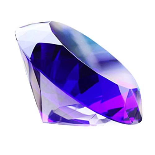 Fenical Gemme del Tesoro di Cristalli Color Diamante Finto 60mm per l'artigianato delle Arti Nuziali