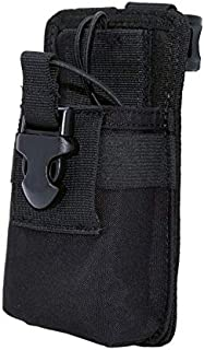 Clakit StrapPack Clip-On Pouch for Radio & GPS, Backpack Attachment for Hunters, First Responders, Public Safety, Hikers and Travelers