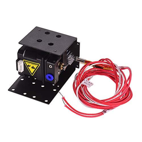 Anet 3D Drucker Extruder Kit mit 1,5 Meter Heizrohr 0,4 mm Düsenkopf 42 Schrittmotor Metall Extruder Verbesserter Ersatz für 1,75 mm Filamentdurchmesser Anet A8 Plus DIY 3D Drucker
