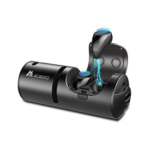 Wireless Bluetooth Earbuds Bluetooth Speaker 5.0 Noise Canceling 3 in 1 Waterproof in-Ear Headphones with Charging Case Power Bank ACADGQ