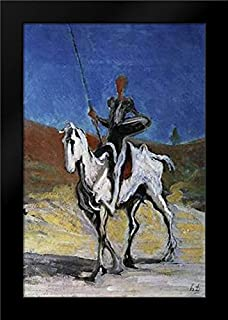 Don Quixote Framed Art Print by Daumier, Honore