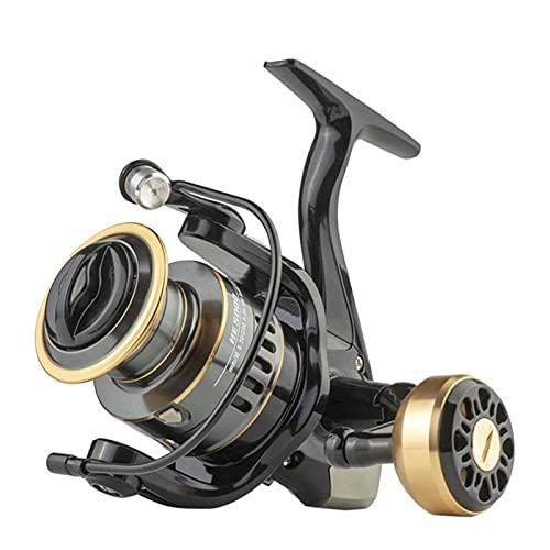 HKD Carrete de Pesca Giratorio Carretes giratorios de Metal Fácil Accesorios de Aparejos de Pesca (Color : B, Size : 1000)