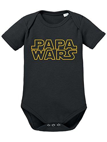 : : : Papa Wars : : : Body de bébé pour garçons & filles - noir -