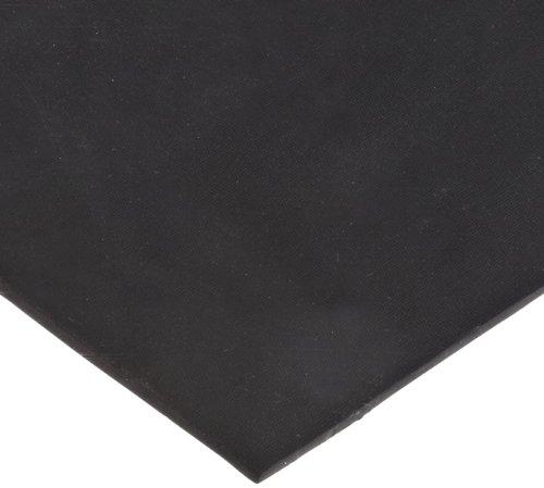 EPDM Sheet, Adhesive-Backed, Black, 0.032