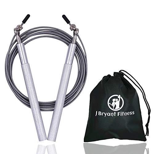 UQstyle Corde de saut de vitesse professionnelle technique Corde de remise en forme pour adultes Sports de saut de vitesse, crossfit, boxe, maman, fitness, exercice, exercices J