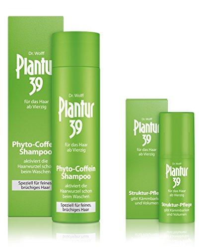 Plantur 39 Phyto-Coffein-Shampoo feines Haar 250 ml + Struktur-Pflege 30 ml