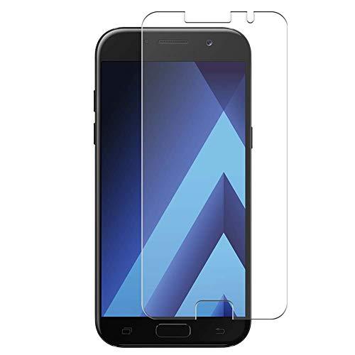 VacFun 4 Piezas Filtro Luz Azul Protector de Pantalla para Samsung Galaxy A5 2017, Screen Protector Sin Burbujas Película Protectora (Not Cristal Templado) Anti Blue Light Filter