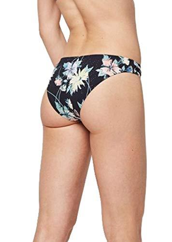O'Neill Damen PW Cruz Mix Bikini Hose, Schwarz All Over Print mit Grün, 36