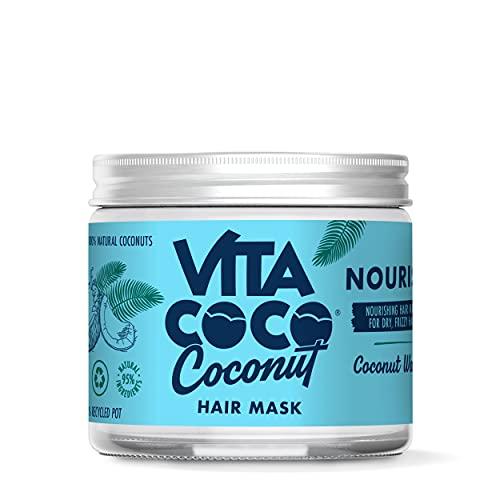 Vita Coco Coconut Hair Mask Nourish ohne Silikon (250ml) für trockenes Haar • feuchtigkeitsspendende Haarmaske pflegt geschädigtes Haar (für alle Haartypen) • intensive...