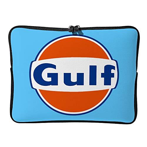 Normal Gulf Racing Laptoptaschen Neuheit Langlebig - Orange Gulf Laptoptasche Geeignet für Geschäft White 13 Zoll