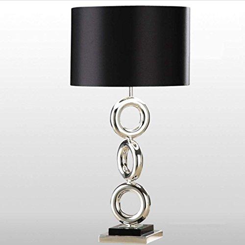 DSJ bureaulamp creatieve roestvrij stalen lamp slaapkamer bed lamp Nordic metalen lamp hotel woonkamer tafellamp