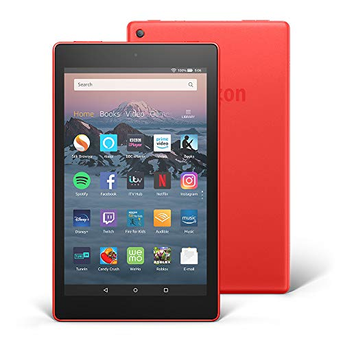Fire HD 8 Tablet, 32 GB, Red—with Ads (Previous Generation - 8th)