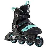 K2 Skates Damen Inline Skate Alexis 80 PRO — Black - Teal —...