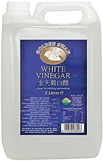 comprar comparacion Golden Swan - Pack de 4 garrafas de vinagre blanco de 5 litros