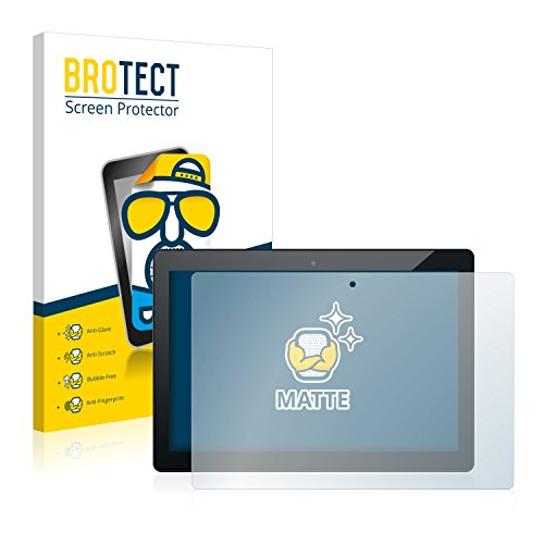 BROTECT 2X Entspiegelungs-Schutzfolie kompatibel mit Odys Winpad 12 Bildschirmschutz-Folie Matt, Anti-Reflex, Anti-Fingerprint