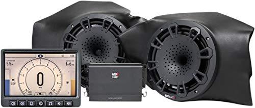 MB QUART Kick Panel Speakers+Receiver+Amp for Select Polaris RZR Ride Command