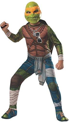 Teenage Mutant Ninja Turtles Movie Michenlangelo Costume (Child L)