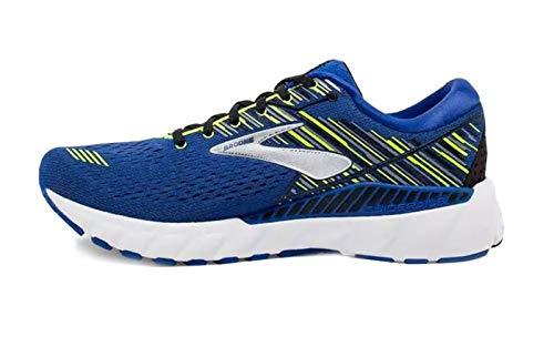 Brooks Mens Adrenaline GTS 19 Running Shoe - Blue/Nightlife/Black - D - 12.0