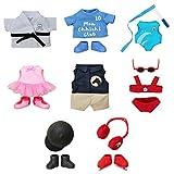 Bandai - Monchhichi - boutique de vêtements de sport pour peluches Monchhichi - saison 2 - modèle aléatoire - 83796