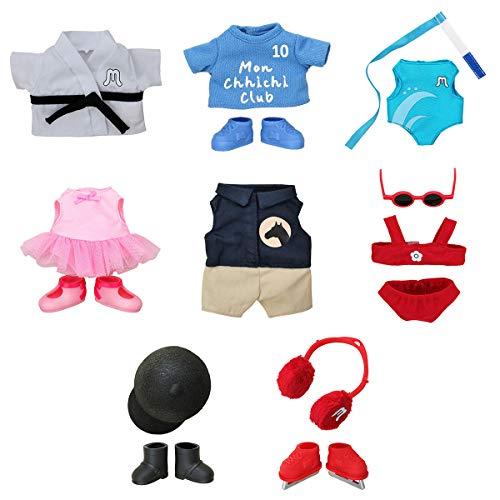 BANDAI – Monchhichi – Sportbekleidung für Plüschtiere Monchhichi – Saison 2 – zufälliges Modell – 83796