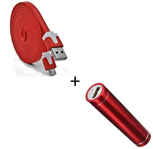 Shot Case Pack batería para Samsung Galaxy A52016Smartphone Micro USB Android 2600mAh Rojo