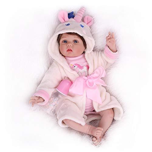 Kaydora Reborn Baby Dolls, 22inch reborn baby girl, Cute lifelike Realistc Reborn Baby Doll for Girl Age 3+
