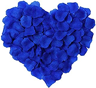 Pack of 1000 Silk Rose Petals, Artificial Flowers for Decoration Wedding Party Wedding Odorless Flowers Petals Favors for ...