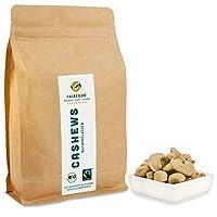 Bio Cashewkerne (700g) - Fairtrade - Naturbelassen von der Elfenbeinküste, qualitativ und fair gehandelt