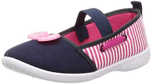 Bubblegummers Girl's New Bow Ballerina Pink Sneakers-1 (3115046)