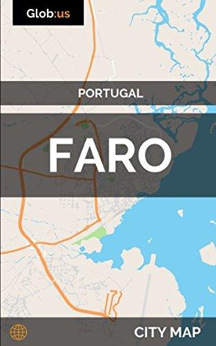 Faro, Portugal - City Map [Idioma Inglés]