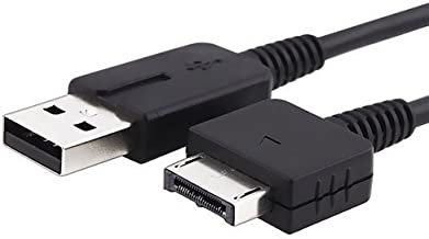 Mizar Black USB Charge and Data Cable for Playstation PS...