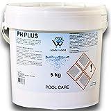 LordsWorld Pool Care - 5Kg PH Piu Incrementatore Corretore PH+ Granulare - Correttore PH - Granulare Incrementatore PH più per Il Mantenimento dell'Acqua della Piscina E Spa - PH-PLUS-5KG