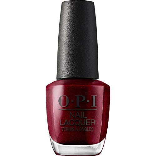 OPI Nail Polish, Nail Lacquer, I'm Not Really a Waitress, Red, 0.5 Fl Oz