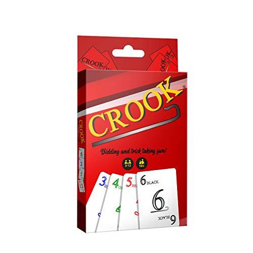 Crook Juego de cartas, pujas y trucos para divertirse!