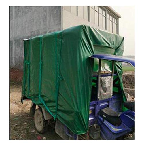 Paño Impermeable Paño Para La Lluvia Lona Para Exteriores Espesar Poncho Verde Protección Solar Toldo Lona Para Camiones Lona Para La Lluvia Lona Refugio De La Sombra Para La Lluvia Lona De(Size:4x4m)