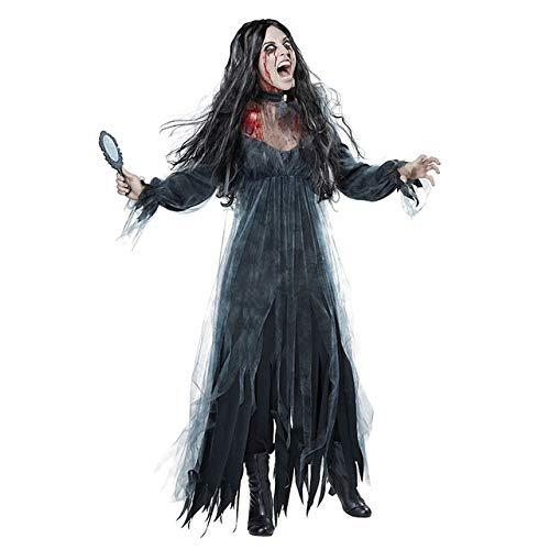 Vestido De Halloween Vestido De Novia Zombie Horror Diablo Fantasma Vestido De Novia Disfraz De Halloween