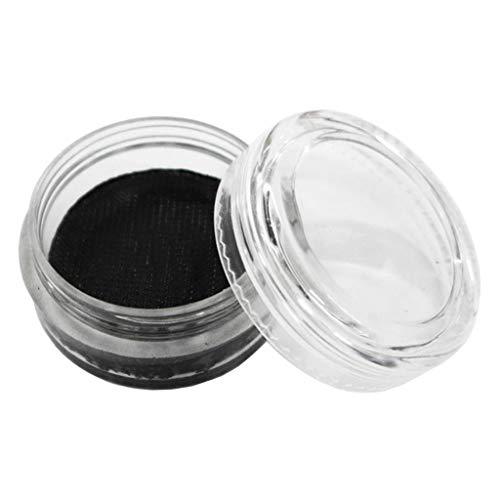 #N/A Matte Make-up Palet Op Waterbasis Make-upset Make-upverven Dierenmaskers Bodypaint voor Carnaval Make-up Schmink - zwart