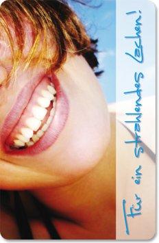Terminkarten (100 Stück) für Zahnarzt, Zahnpflege, Mundhygiene