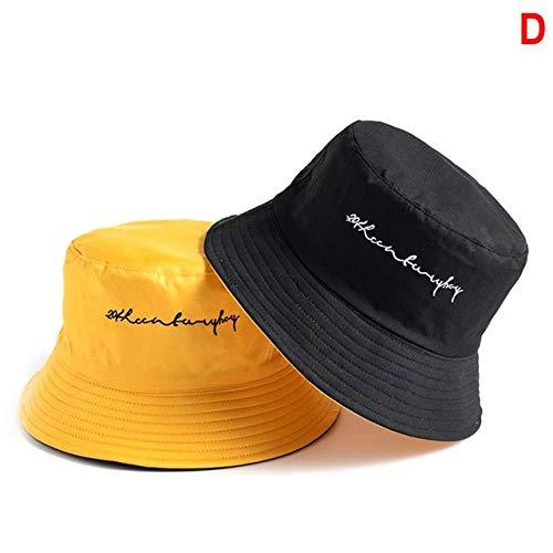 Unisex del Sombrero del Cubo Pesca Hip Hop al Aire Libre los Hombres del Casquillo del Verano para los Pescadores de la Mujer SombreroFemenino-a12