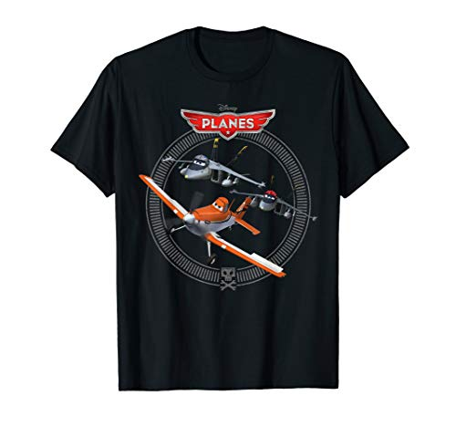 Disney Planes Dusty Crophopper with Bravo and Echo T-Shirt