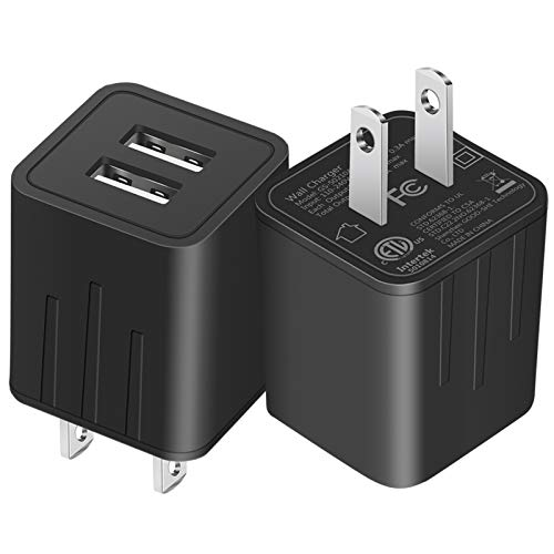 JAHMAI Wall Charger, USB Charger Fast Charging Compact Wall Plug Adapter